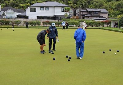 Whitby Bowling club shows heart