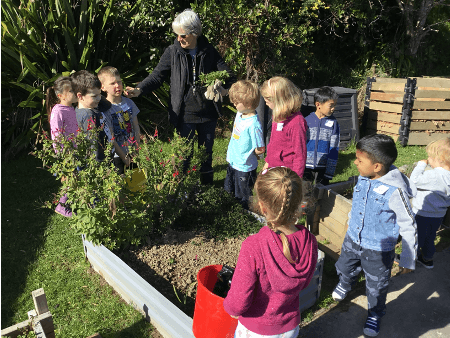 Greenacres School – Garden to Table